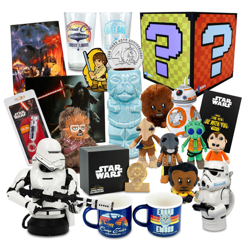 Star Wars Mega Mystery Gift Box | $399 Value | 20 Fun Items!