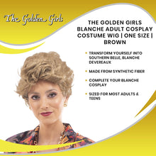 Load image into Gallery viewer, The Golden Girls Officially Licensed Blanche Costume Cosplay Wig