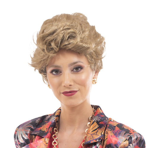 The Golden Girls Officially Licensed Blanche Costume Cosplay Wig