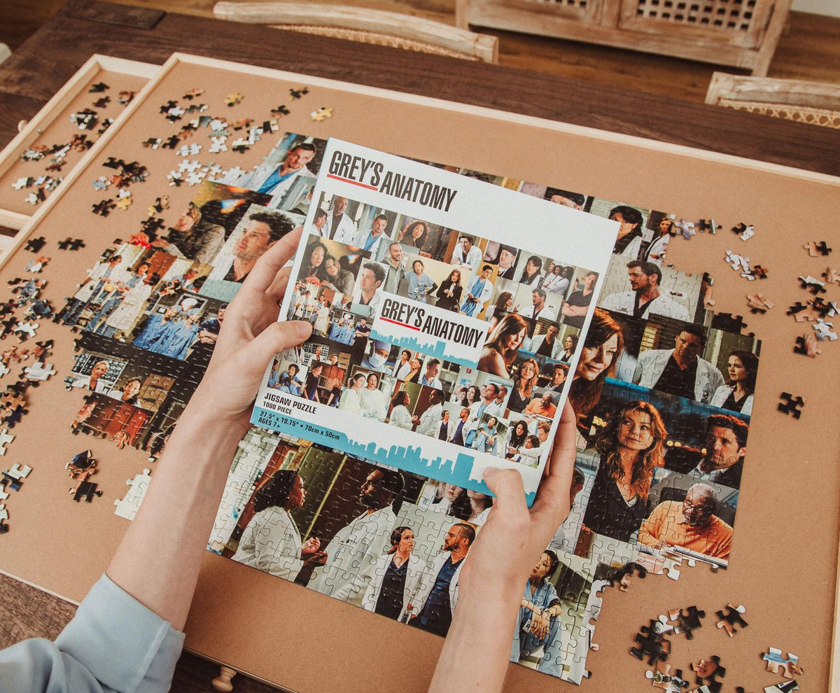 Grey's Anatomy Collage 1000 Piece Jigsaw Puzzle
