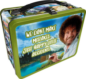Bob Ross Collectibles | Looksee Collector's Box | Pin | Lunch Box | More