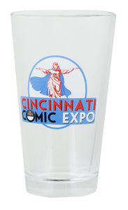Cincinnati Comic Expo Logo 16oz Pint Glass