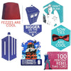 Doctor Who Ultimate Sticker Bundle With 7 Die Cut Stickers