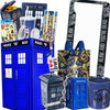 Doctor Who LookSee Box with Tardis Cookie Jar, Sonic Screwdriver, Dalek & More