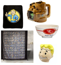 Fallout House Bundle Set With Molded Mug, Ceramic Cookie Jar And More