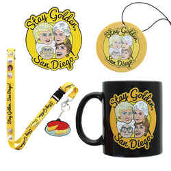 Golden Girls Stay Golden San Diego Bundle With SDCC Pin, Mug And More