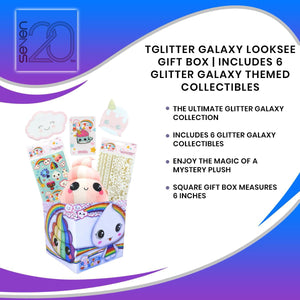 Glitter Galaxy LookSee Gift Box | Includes 6 Glitter Galaxy Themed Collectibles