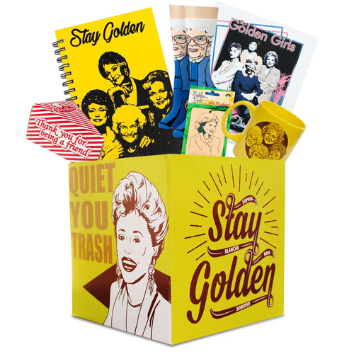 The Golden Girls Collectible Looksee Collector's Box | Mug | Print | Socks