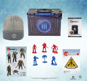 Gears of War 5 Collector's Looksee Bundle with Exclusive Ammo Tin Packaging and DLC
