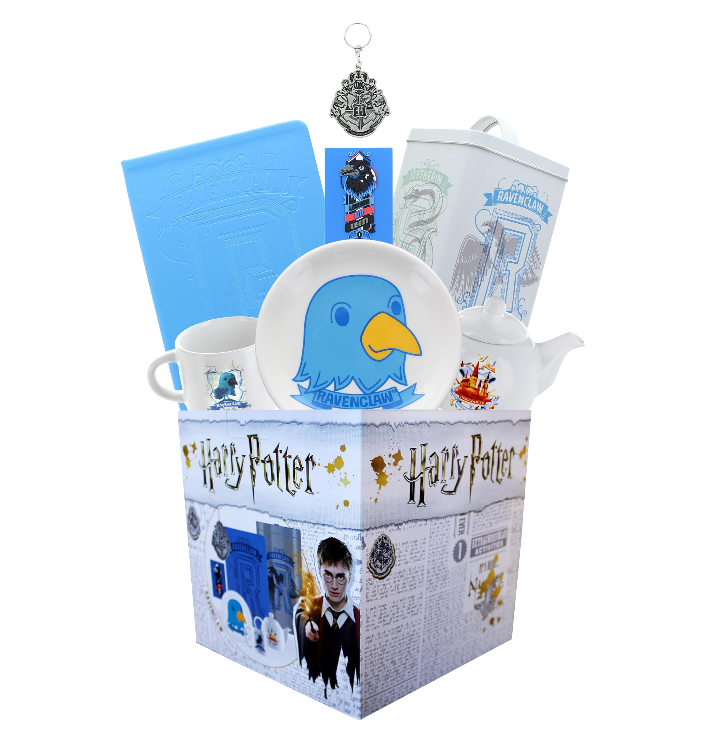 Contains 7 Official Harry Potter Themed Gifts Including Hufflepuff Journals Harry Potter Hufflepuff House LookSee Box Square Gift Box Measures 7.75 Inches Magnets /& More