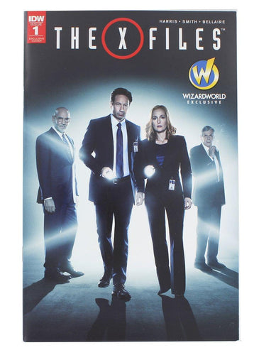 IDW The X-Files #1 Wizard World 2016 Exclusive Cover
