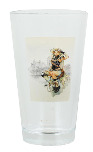 Lola XOXO Print 16oz Pint Glass