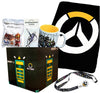 Overwatch Collectibles |Collectors Looksee Box | Fleece Blanket | Mug | Pins