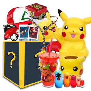 Pokemon Collectibles LookSee Collector's Box | Blanket | Snapback Hat | Cup