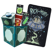 Load image into Gallery viewer, Rick and Morty Collectibles | Collector's LookSee Box | Throw Blanket and More
