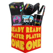 Load image into Gallery viewer, Ready Player One Gift LookSee Box Bundle w/ Toys, Mug, Hat & More
