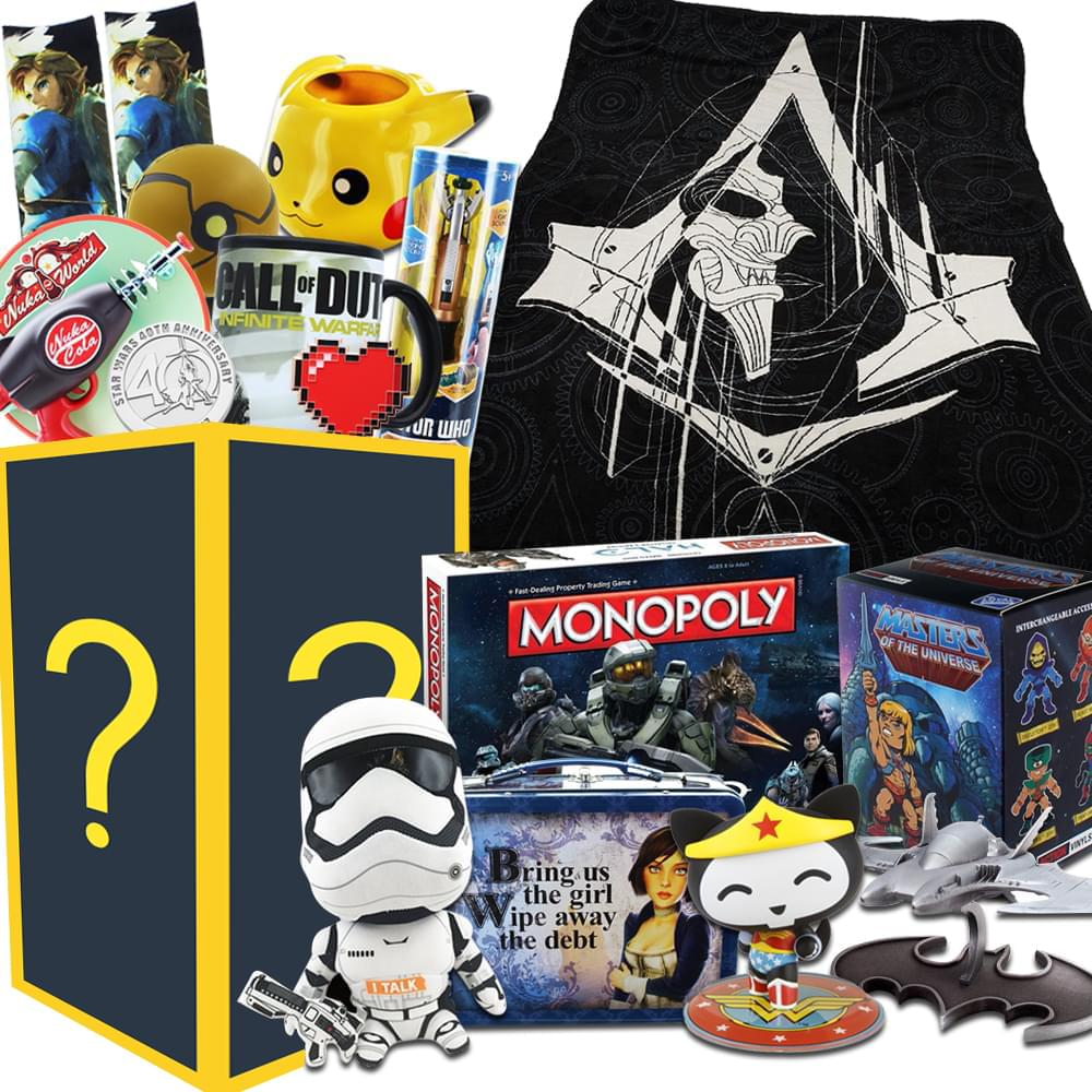 Super Mega Collectibles LookSee Box | Collectors Edition Wide Variety