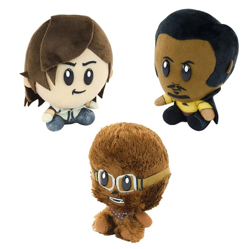 "Star Wars 4"" Super Bitz SDCC'18 Exclusive Plush Bundle Set Of 3"