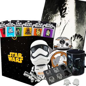 Star Wars Collectibles LookSee Collectors Box | Han Solo Blanket and Pins