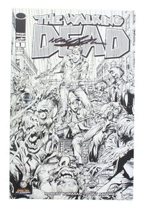 The Walking Dead #1 WW NYC Exclusive B&W Cover Signed By Neil Adams