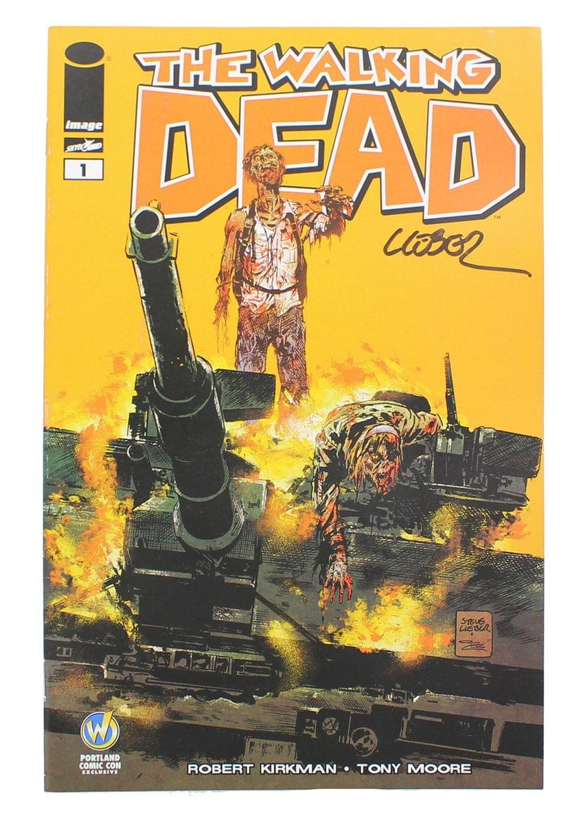 The Walking Dead #1 WW Portland Exclusive Color Cover Signed By Steve Lieber
