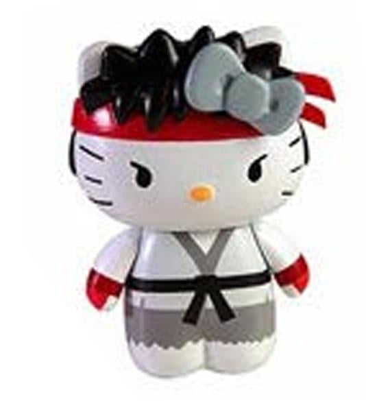Street Fighter X Sanrio Mobile Plug Charm Ryu