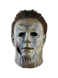 Halloween 2018 Michael Myers Final Battle Adult Latex Costume Mask | Bloody Edition