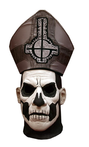 Ghost! Papa II Emeritus Deluxe Mask Adult Costume Accessory
