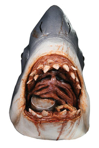 JAWS Full Adult Costume Mask Bruce the Shark