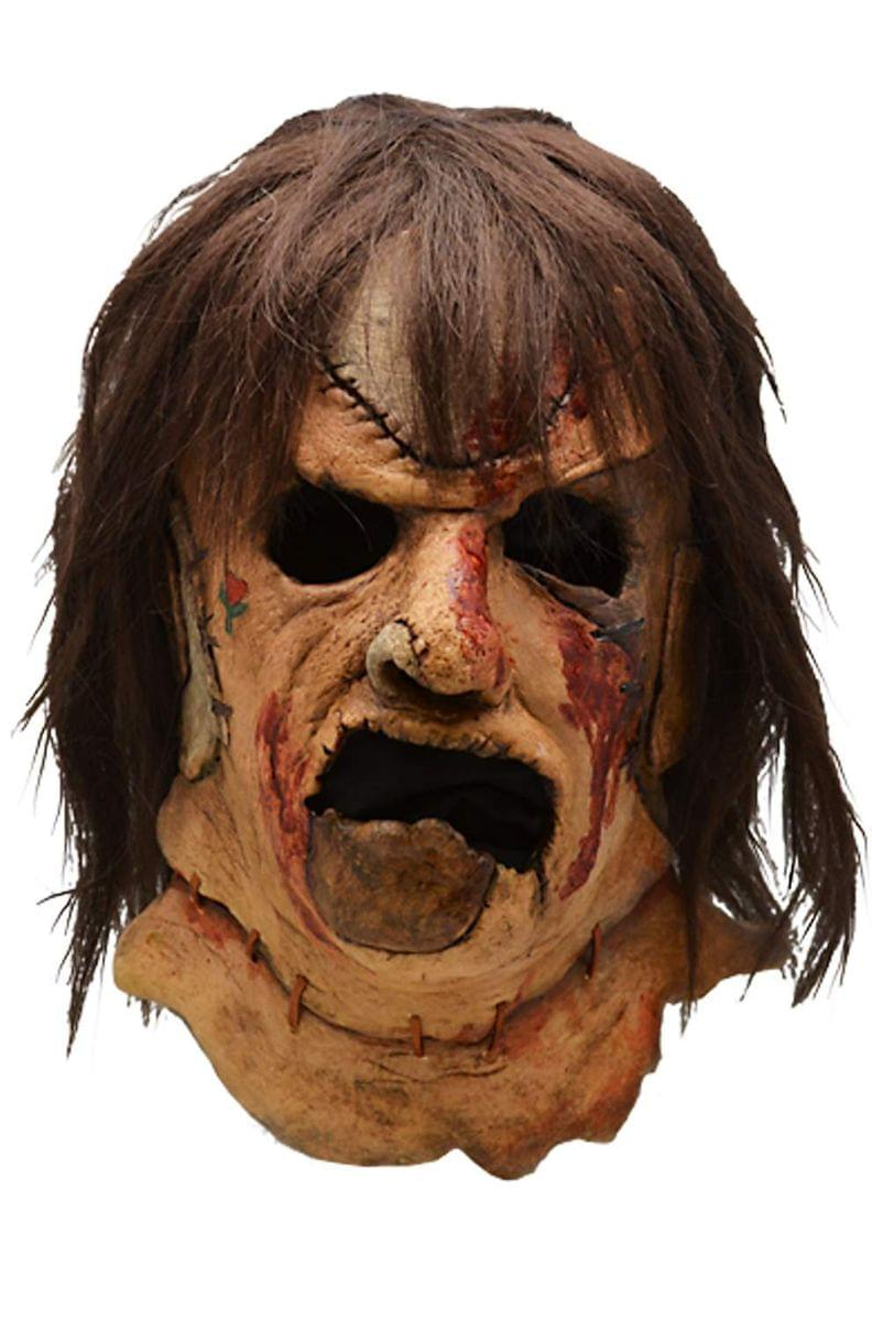 Texas Chainsaw Massacre 3 Leatherface Adult Latex Costume Mask