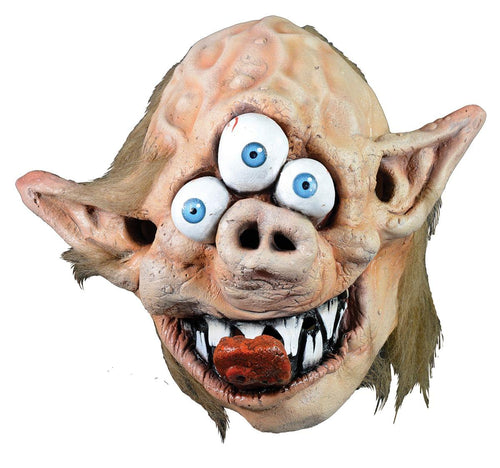 Garbage Pail Kids Full Adult Costume Mask Zeke Freak