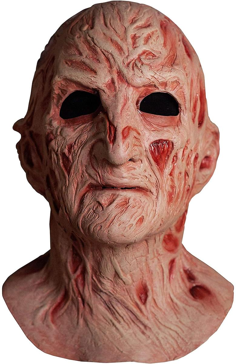 A Nightmare On Elm Street 4 Adult Latex Costume Mask | Freddy Krueger