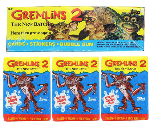 Gremlins 2 The New Batch Topps Trading Cards - 36 Packs
