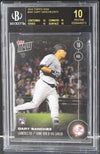 Gary Sanchez New York Yankees 2016 Topps Now Rookie Card #341 BGS 10 Black Label