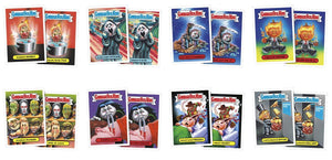 2016 GPK American as Apple Pie in Your Face: Halloween, Complete Set
