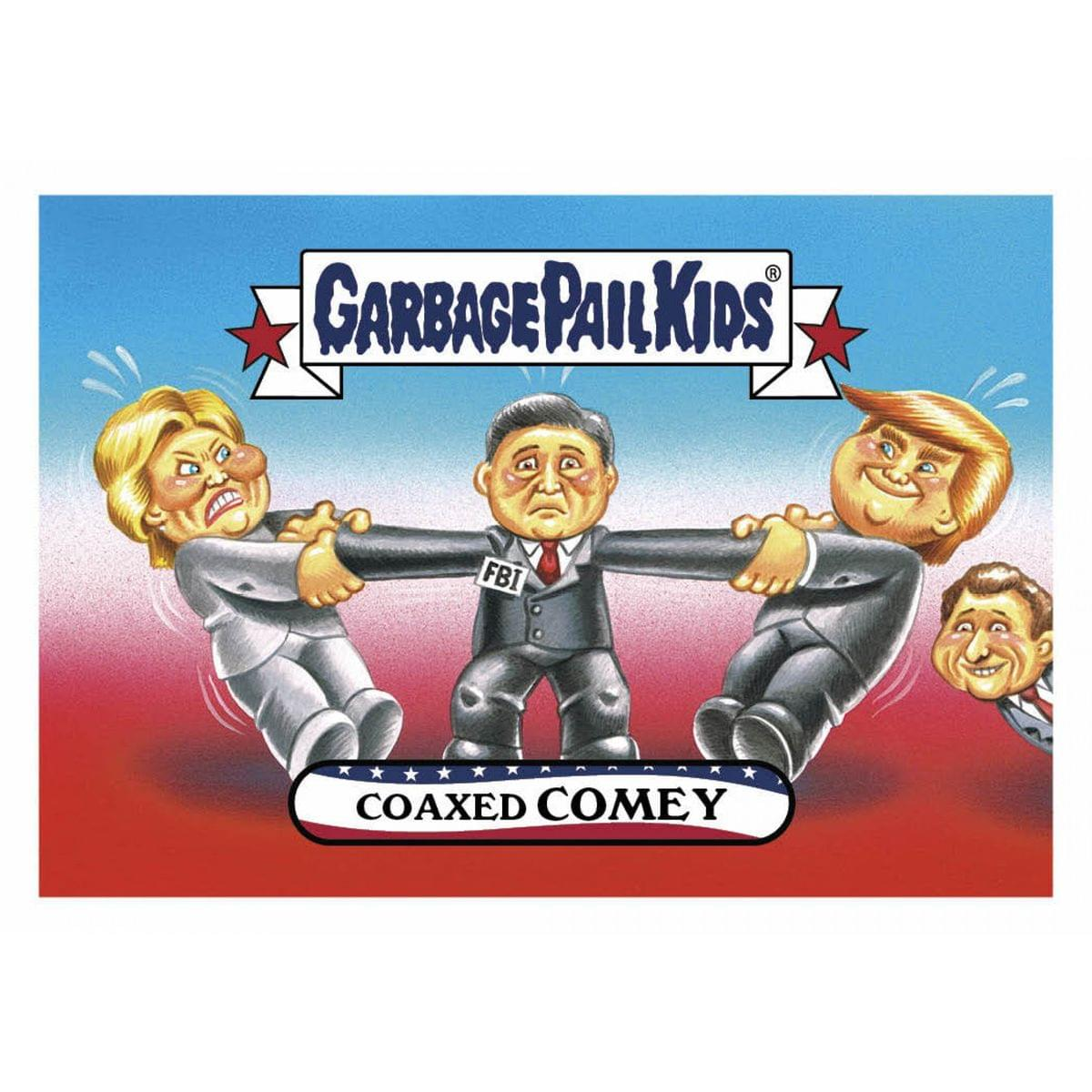 GPK: Disgrace To The White House: Coaxed COMEY, Card 36