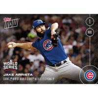 MLB Chicago Cubs Jake Arrieta #654 2016 Topps NOW Trading Card