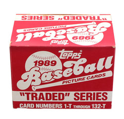 MLB 1989 Topps Baseball Traded Series - Set of 132 Cards