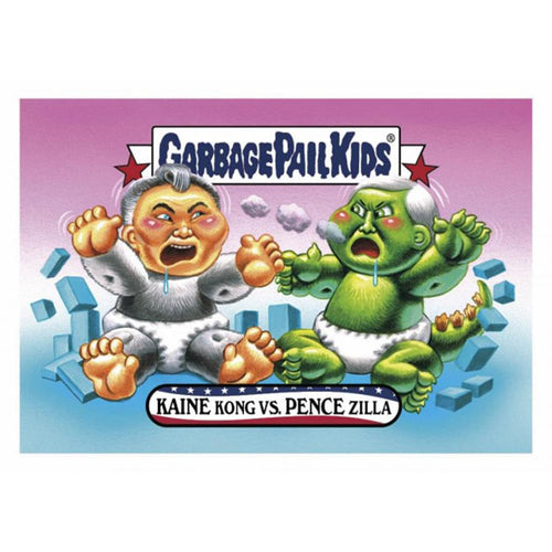 GPK: Disg-Race To The White House: Kaine Kong vs. Pence Zilla, Card 12