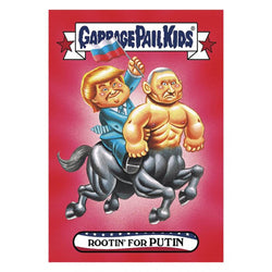 Garbage Pail Kids Disg-Race To The White House Rootin' For Putin #29
