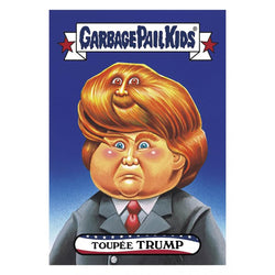 Garbage Pail Kids Disg-Race To The White House Toupee Trump #30