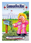 Garbage Pail Kids Disg-Race To The White House Contribution Clinton #54