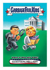 Garbage Pail Kids Disg-Race To The White House What If Hillary Won #68