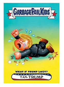 Garbage Pail Kids Disg-Race To The White House What If Trump Lost #69
