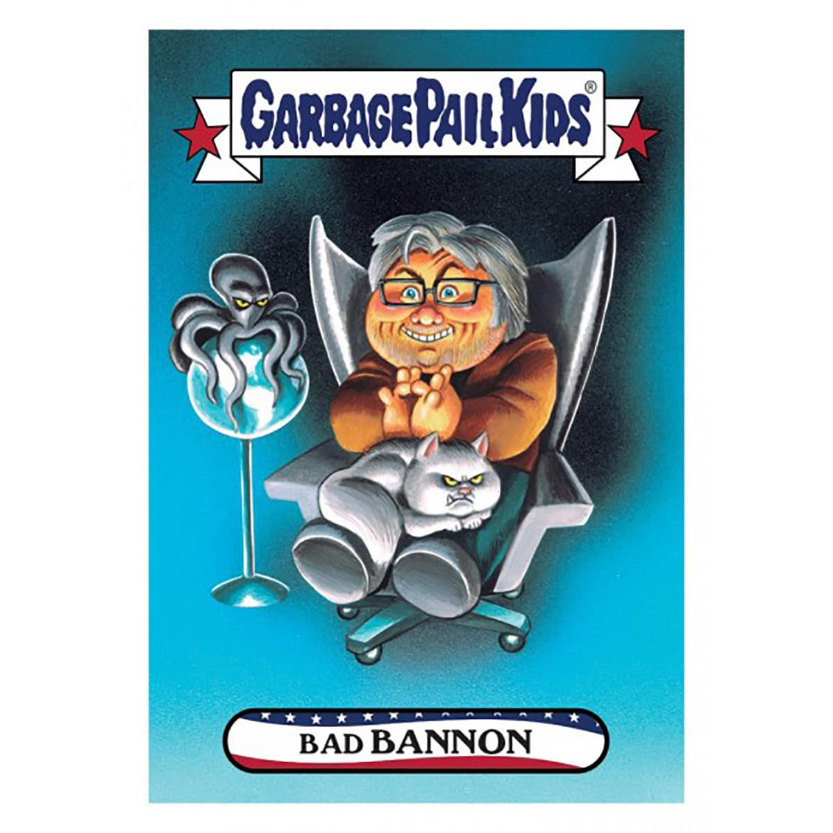 GPK: Disgrace To The White House: Bad BANNON, Card 73