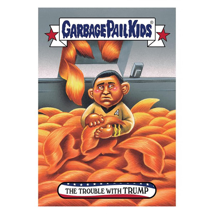 GPK: Disgrace To The White House: The Trouble with TRUMP, Card 79