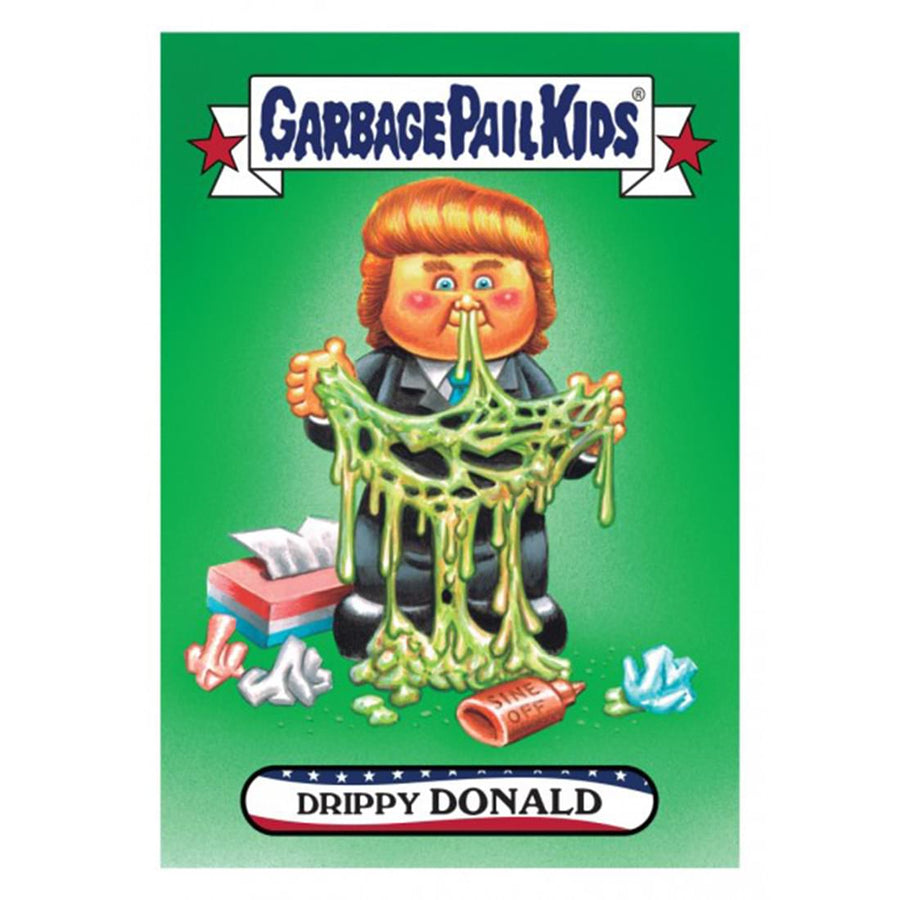 Garbage Pail Kids GPK: Disgrace to the White House Drippy Donald Trump #2