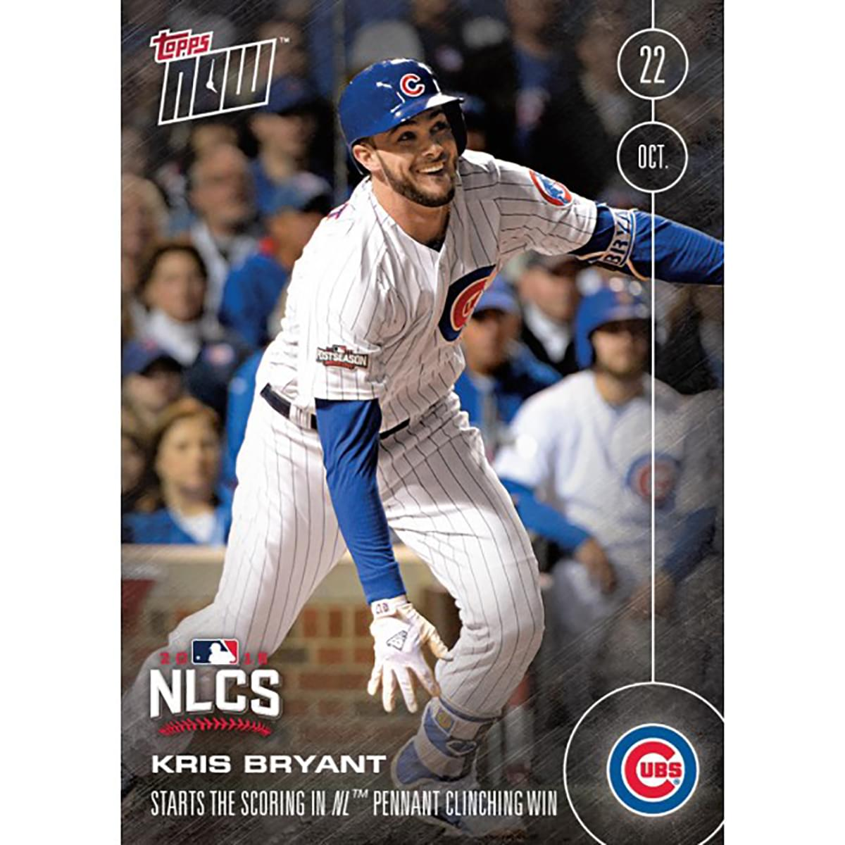 MLB Chicago Cubs Kris Bryant #613A Topps NOW Trading Card