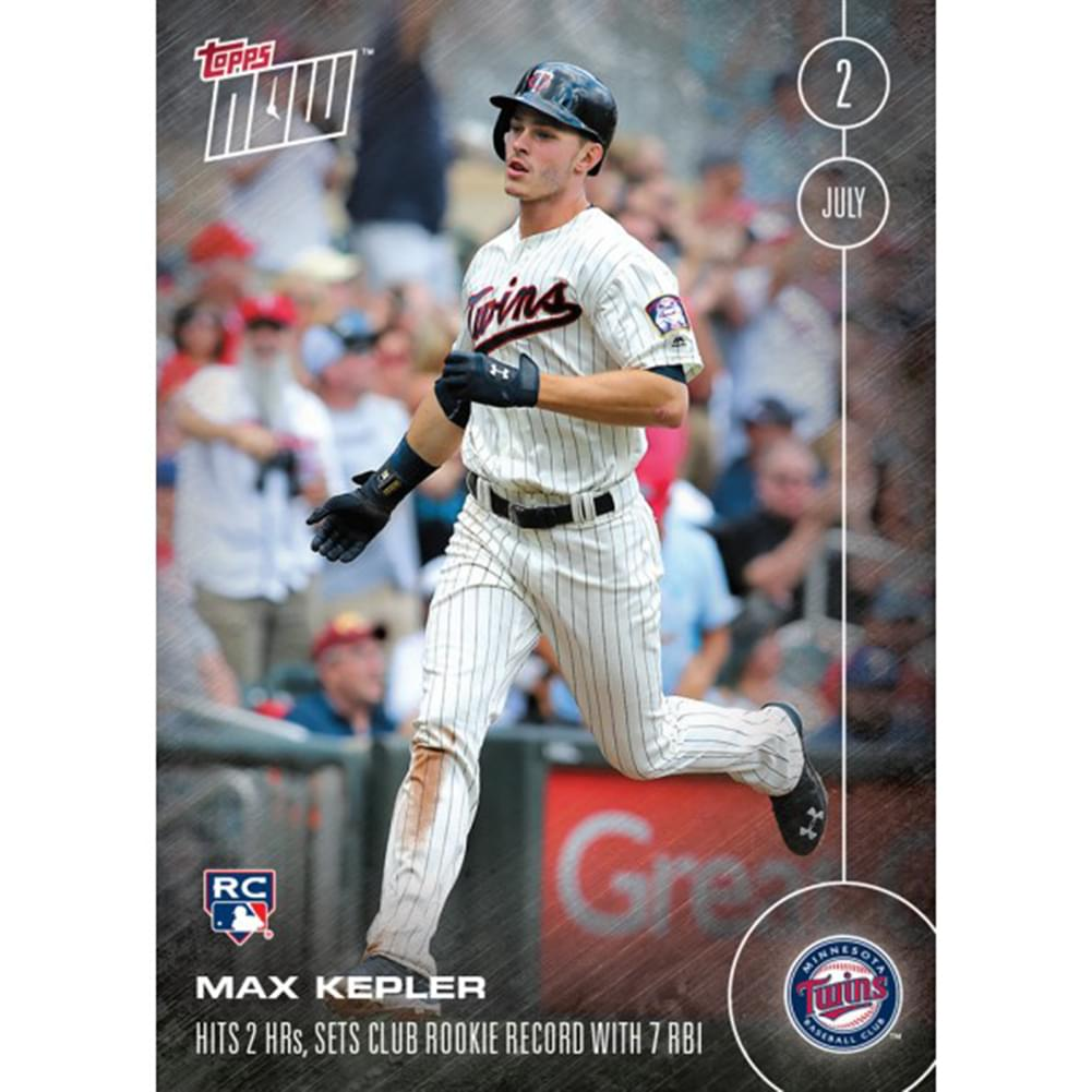 MLB Minnesota Twins Max Kepler (RC) #203 2016 Topps NOW Trading Card