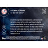NY Yankees, Tyler Austin (Call-Up) MLB Topps NOW Card 436